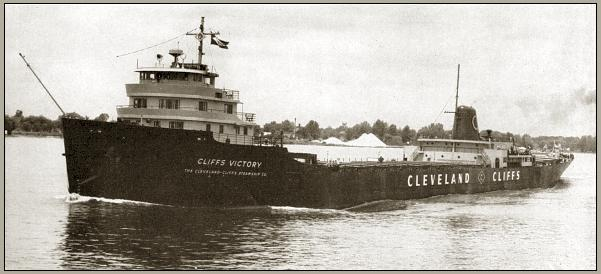 Photo of the lake freighter Cliffs Victory